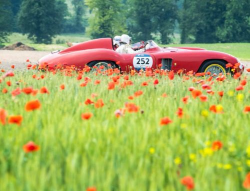 The 1000 Miglia 2018 towards Parma