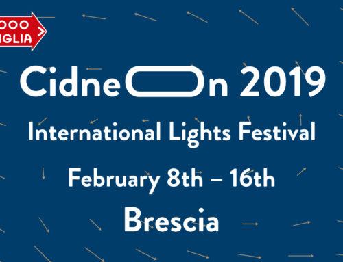 CidneOn celebra la 1000 Miglia con la magia delle luci