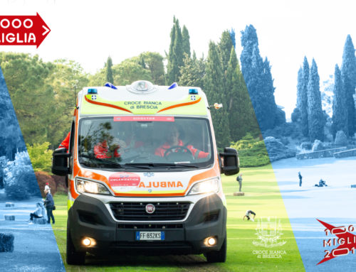 Croce Bianca's (White Cross') support to the 1000 Miglia 2019