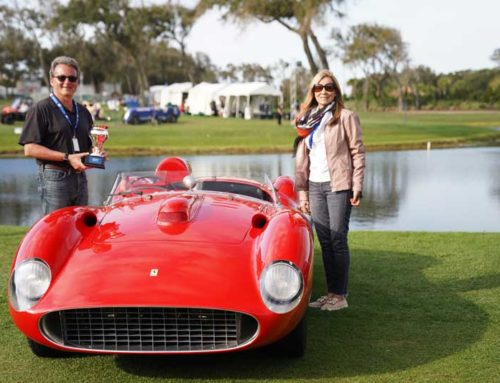 Spirit of 1000 Miglia Award at the Amelia Island Concours d'Elegance 2019