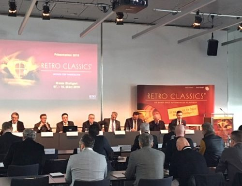 Presentation of the 1000 Miglia 2019 at Retro Classics