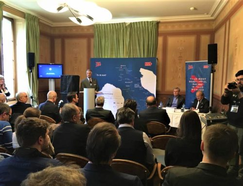 The presentation of the 1000 Miglia 2019 in Geneva on 4 March