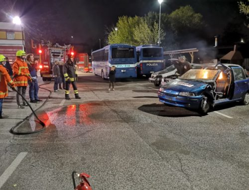 Firefighting course for the Technical Convoy of the 1000 Miglia 2019