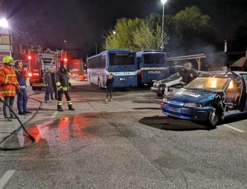 Corso antincendio per il Convoglio Tecnico della 1000 Miglia 2019