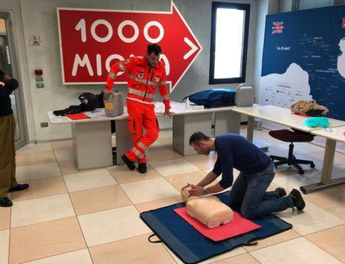 Corso di primo soccorso per il Convoglio Tecnico della 1000 Miglia 2019