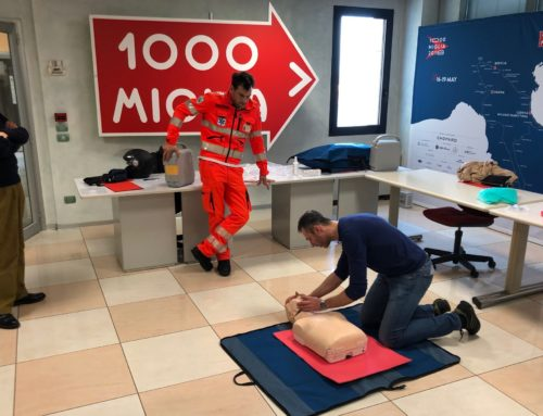 First aid course for the 1000 Miglia 2019 Technical Convoy