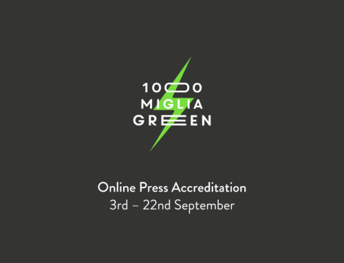 Press accreditation requests for the 1000 Miglia Green 2019 are now open