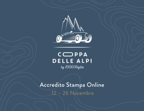 Aperti gli accrediti stampa per la prima Coppa delle Alpi by 1000 Miglia