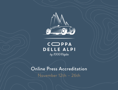 Press accreditation requests for the first Coppa delle Alpi by 1000 Miglia are now open