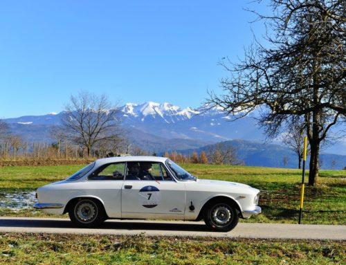 Al via la Coppa delle Alpi by 1000 Miglia: dopo la prima tappa al comando Moceri-Bonetti