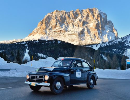 The Margiotta-Urbini crew wins the first Coppa delle Alpi by 1000 Miglia