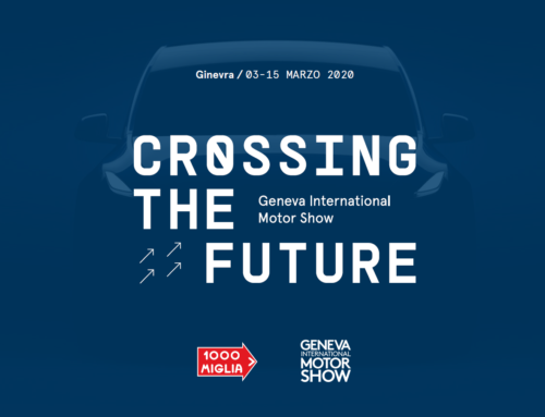 "1000 Miglia al Geneva International Motor Show con ""Crossing the Future"""