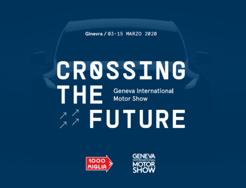 "1000 Miglia at the Geneva International Motor Show with ""Crossing the Future"""