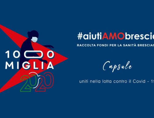 1000 Miglia and Luca Roda together for AiutiAMObrescia