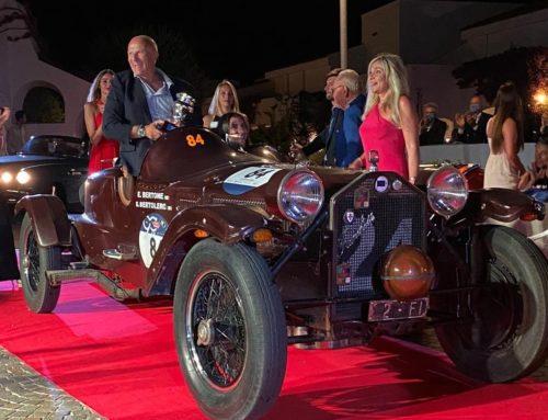 Il premio Spirit of 1000 Miglia al Concorso Poltu Quatu Classic 2020: trionfa la Lambda Ca.sa.ro