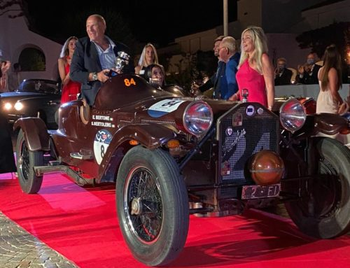 The Spirit of 1000 Miglia award at the Concours d'Elegance Poltu Quatu Classic 2020: the Lancia Lambda Ca.sa.ro triumphed