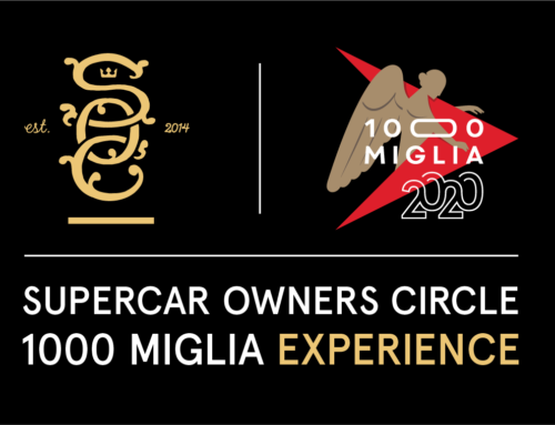 Supercar Owners Circle 1000 Miglia Experience: entries are now open