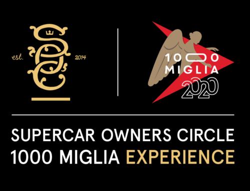 Aperte le iscrizioni per la Supercar Owners Circle 1000 Miglia Experience