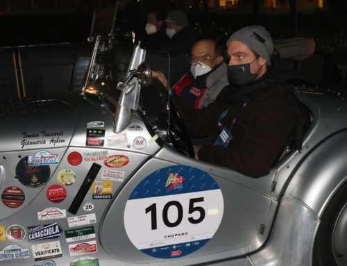 The second stage starts: the cars head towards Rome