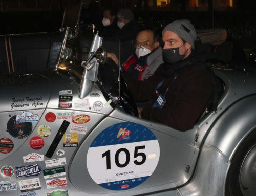 Partita la seconda tappa: le vetture si dirigono verso Roma