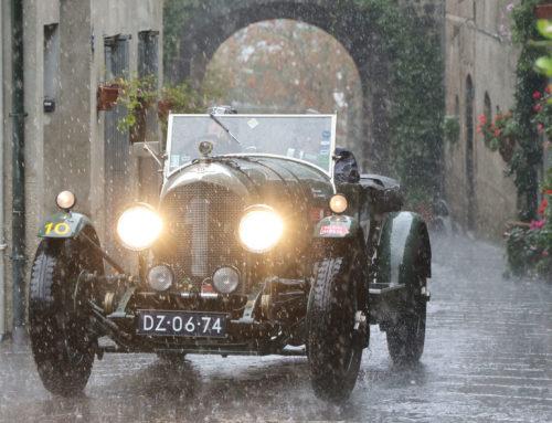 Al via da Roma la terza tappa: gli equipaggi tornano verso nord