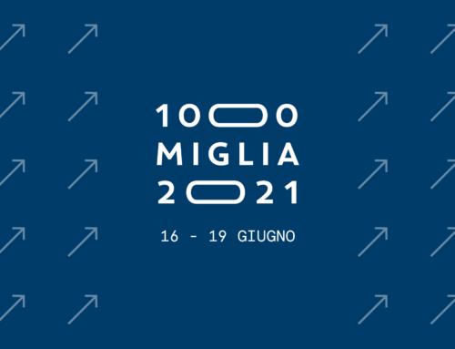 La 1000 Miglia 2021 si terrà dal 16 al 19 giugno