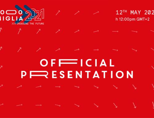 1000 Miglia 2021: official presentation