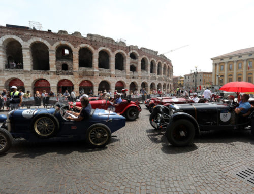 Verona welcomes the 1000 Miglia for the lunch of the 4th leg
