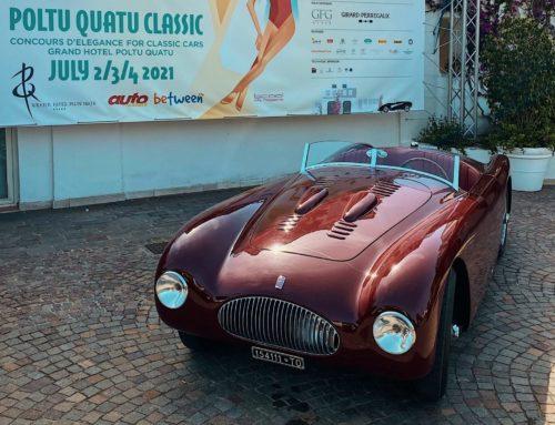 Alla Fiat 1100 Sport Barchetta MM il premio Spirit of 1000 Miglia al Poltu Quatu Classic 2021